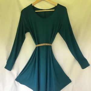Dresses & Skirts - Teal Mini Dress